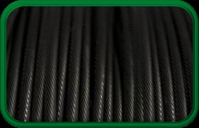 Black Galvanized Cable