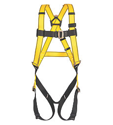 MSA Workman Back D-ring Qwik-Fit leg and chest straps Harness- X Large