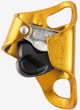 PETZL CROLL-L COMPACT ROPE ASCENDER FOR 8MM-13MM ROPE