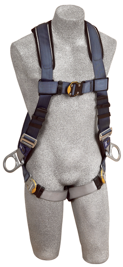 DBI Padded Exofit Vest Style Positioning Harness, 2D rings