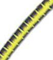 5/32 Multi-Colored (Yellow With Blue & Black) Fibertex Bungee Cord