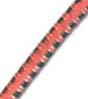 5/32 Multi-Colored (Orange With White & Green) Fibertex Bungee Cord