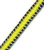 5/32 Multi-Colored (Yellow With Black & Blue) Fibertex Bungee Cord