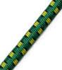 5/32 Multi-Colored (Green With Black & Yellow) Fibertex Bungee Cord