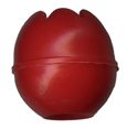 25mm Red Toggle Ball for 4mm & 5mm Bungee