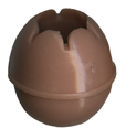 25mm Coffee Cream Toggle Ball for 4mm & 5mm Bungee