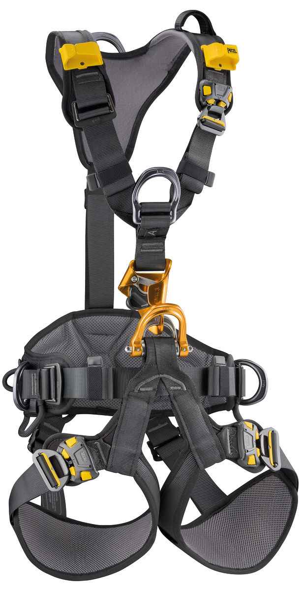 PETZL ASTRO BOD FAST FULL BODY HARNESS, BLK,