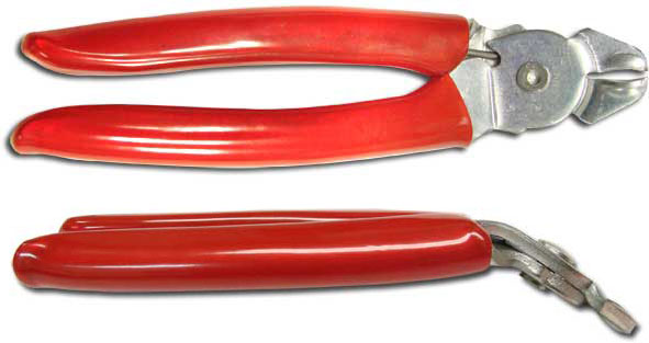 Hog Ring Plier Red Handle