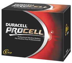 C (1.5V) Duracell Procell Battery