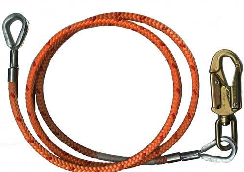 1/2 X 10 Flip Line With A Double Locking Steel Swivel Snap