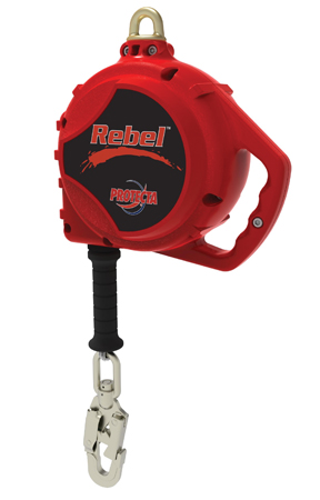 Protecta Rebel™ Self Retracting Lifeline with 5mm Galvanized Cable
