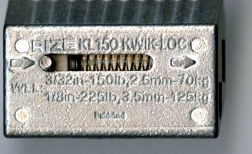 KL150 KWIK-LOC for 3/32 & 1/8 Cable