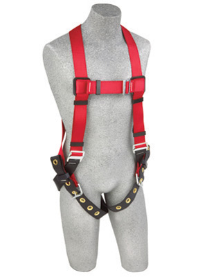 Protecta Pro Vest Style Full Body Harness with Single D Ring & Tongue Buckle Legs