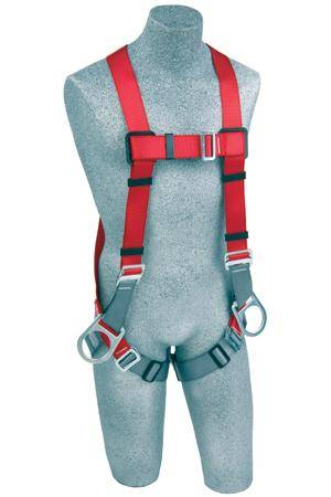 Protecta Vest Style Full Body Harness with Side & Back D Rings & Tongue Buckle leg Straps