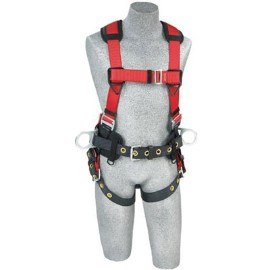 Vest Style Fully Body Construction Harness