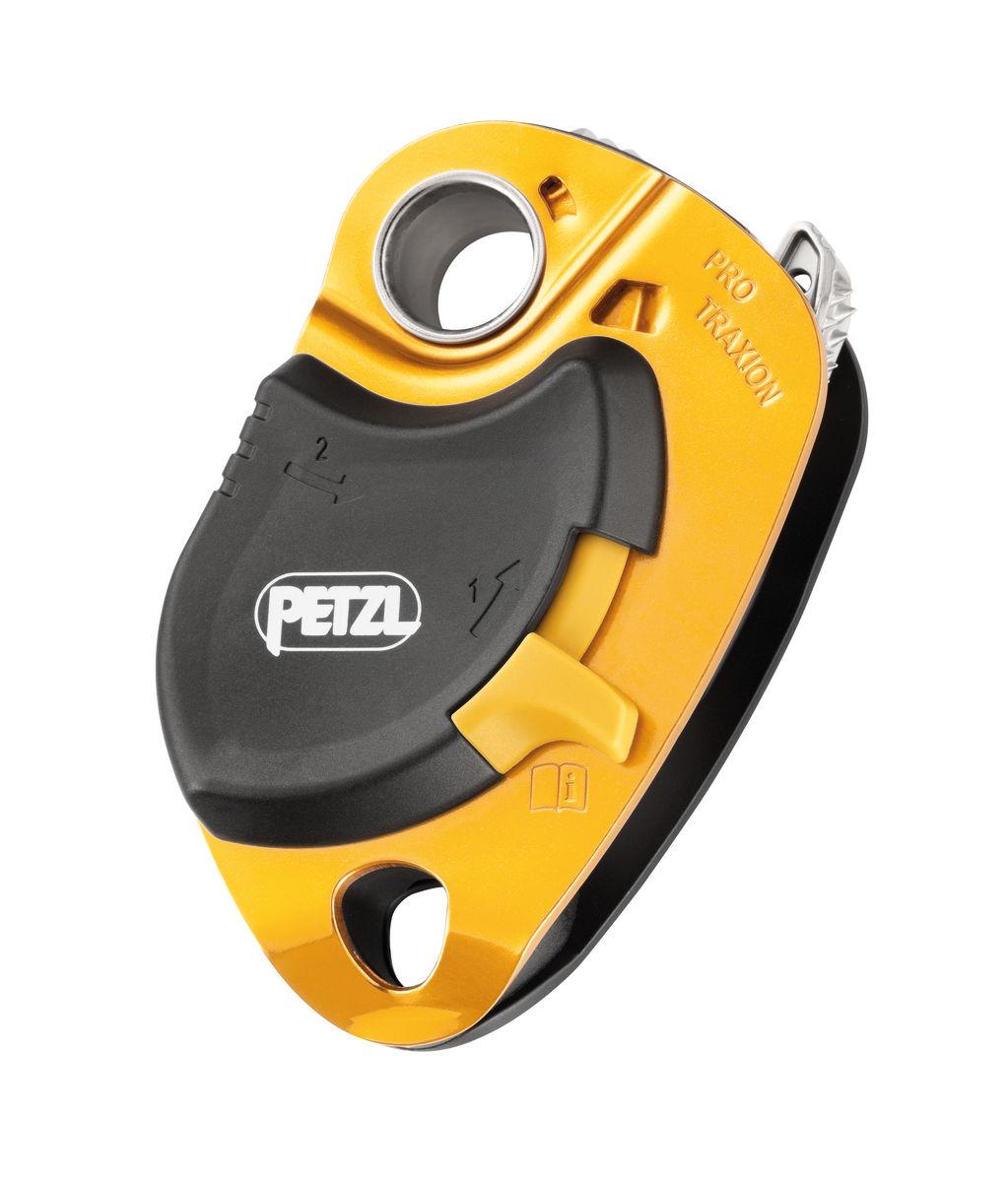 Petzl Pro Traxion Progress Capture Pulley - Gold
