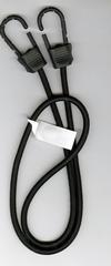 3/8 X 48 Black Fibertex Bungee Cord with Titan II Hooks
