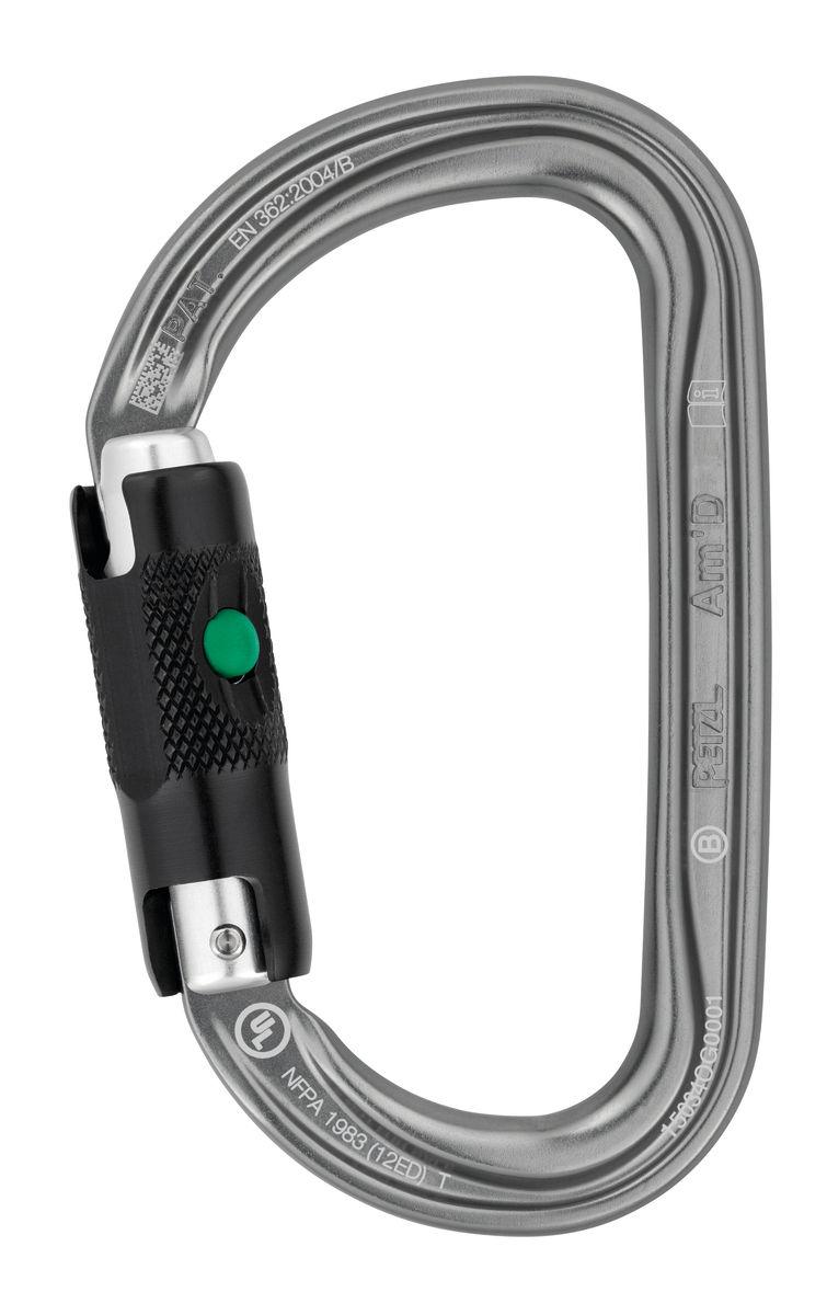 Petzl AmD Ball-Lock Aluminum Carabiner