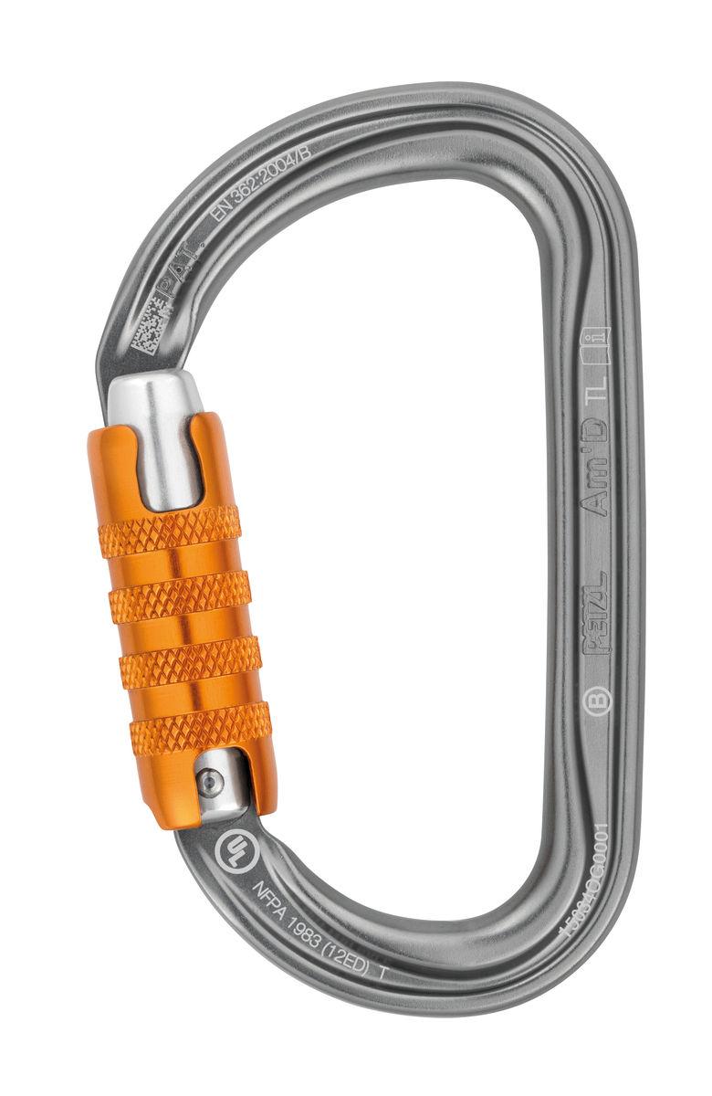 Petzl AmD Triact-Lock Aluminum Carabiner