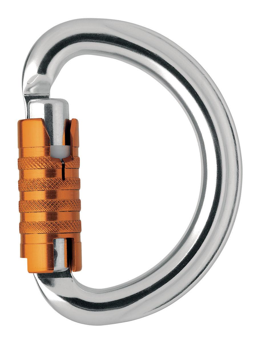 Petzl OMNI Semi Circle Triact-Lock Aluminum Carabiner