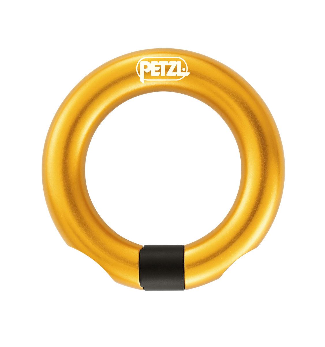 PETZL Ring Open Multi-diretional Gated Ring