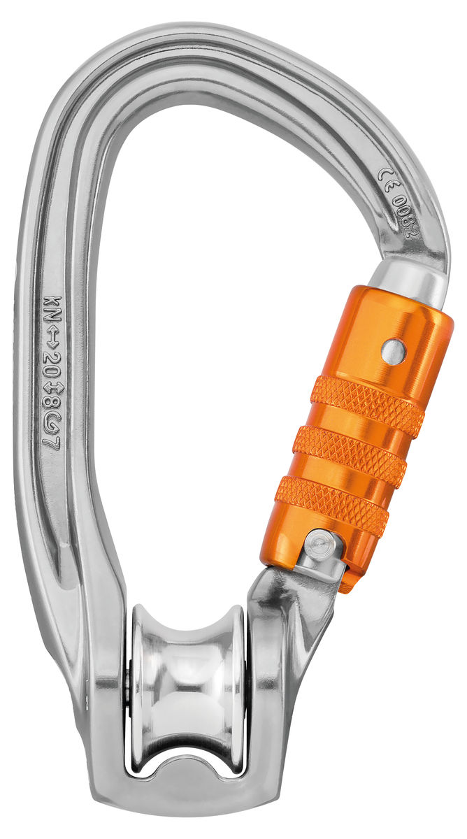 Petzl Rollclip Z H-Frame Triact-Lock Pulley Carabiner