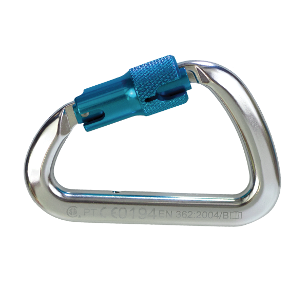 Rigger Safety Captive Pin Aluminum Carabiner