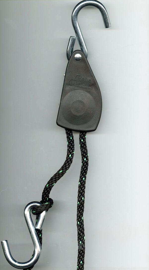 Rope Ratchet w/ S-Hooks