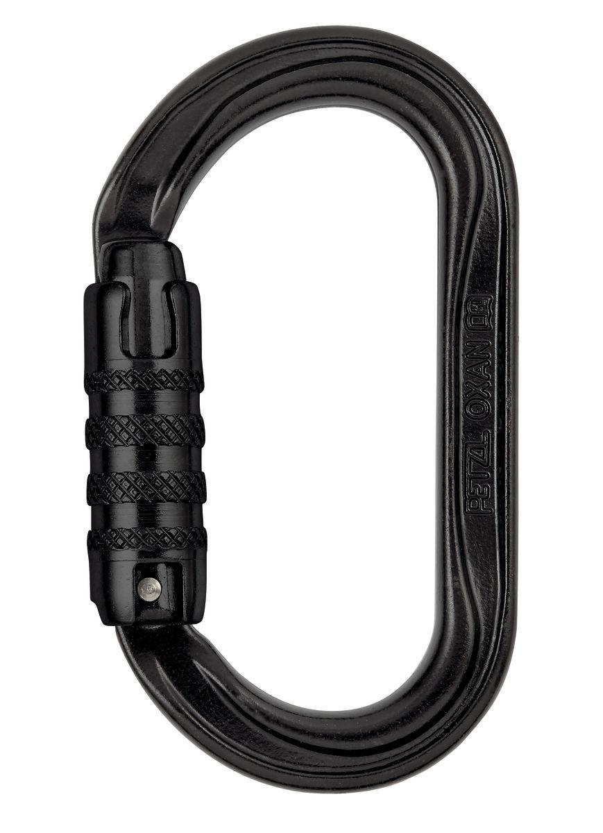 Petzl Oxan H-Frame Triact-Lock Black Carabiner