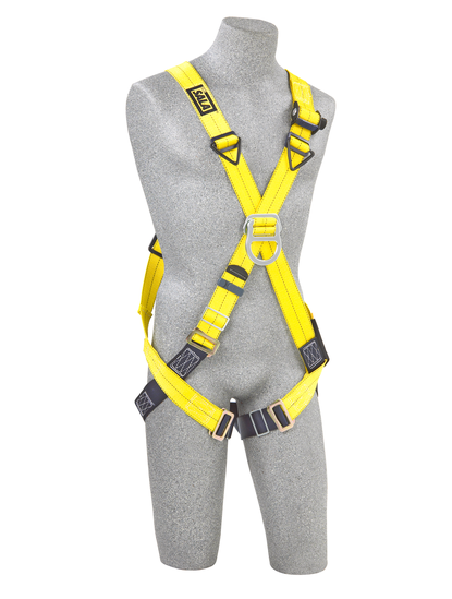 DBI Delta Cross-Over Style Climbing Harness, 2D rings - Universal