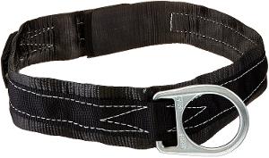 Miller Single D-ring Body Belt for Work Positioning Only - 1 3/4webbing w/ 3 back pad