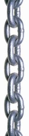 HOT DIPPED GALVANIZED PROOF COIL CHAIN, SYSTEM 3, 3/16