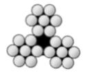 1/32 3X7 GALVANIZED CABLE PER MIL-DTL-83420