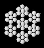 3/64 7X7 GALVANIZED CABLE PERMIL-DTL-83420