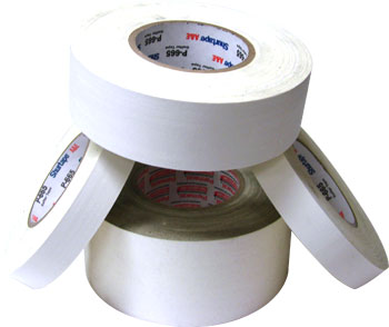 3 X 60 YARDS WHITE PERMACEL-665.TAPE (16/CASE)