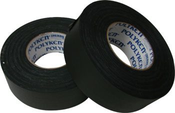 2 X 60 YARDS BLACK POLYKEN-512 GAFFERS TAPE(24/CS)