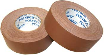 2 X 60 YARDS BROWN POLYKEN-510 GAFFERS TAPE(24/CS)