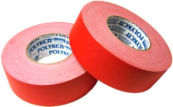 2 X 60 YARDS RED POLYKEN-510 GAFFERS TAPE(24/CS)