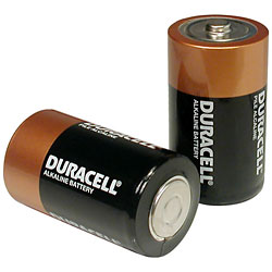 D (1.5V) Duracell Procell Battery
