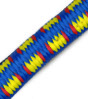 "13/32"" BLUE WITH YELLOW & RED FIBERTEX BUNGEE CORD #9005"