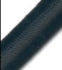 "5/8"" BLACK NYLON OVER COTTON DOUBLE JACKET BUNGEE #5651"