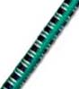 "5/32"" Multi-Colored (Green With White & Black) Fibertex Bungee Cord"