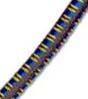 "5/32"" Multi-Colored (Brown With Yellow & Blue) Fibertex Bulk Bungee Cord"