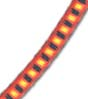 "5/32"" Multi-Colored (Orange With Black & Yellow) Fibertex Bungee Cord"