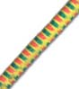 "5/32"" Multi-Colored,(Yellow With Orange & Green) Fibertex Bungee Cord"