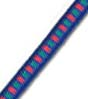 "5/32"", Multi-Colored (Blue With Green & Red) Fibertex Bungee Cord"