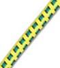 "5/32"" Multi-Colored (Yellow With Black & Green) Fibertex Bungee Cord"
