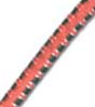 "5/32"" Multi-Colored (Orange With White & Green) Fibertex Bungee Cord"