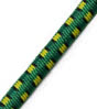 "5/32"" Multi-Colored (Green With Black & Yellow) Fibertex Bungee Cord"