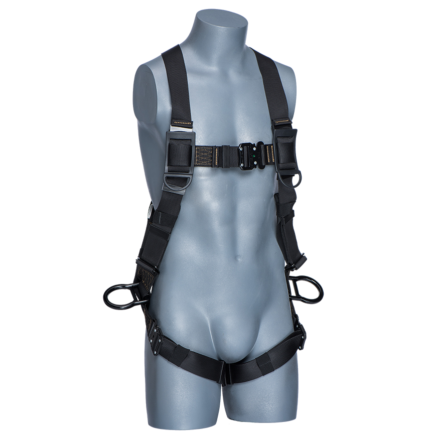 Rigger Safety Black 3D ring Harness- Universal